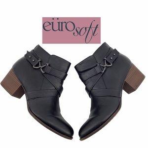 EUROSOFT BLACK BOOTIES SIZE 10